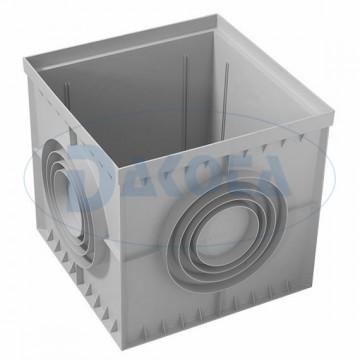 Arqueta PVC 40x40 c/tapa